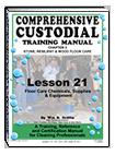 Lesson 21 – Floor Care Chemicals, Supplies & Equipment - ebook