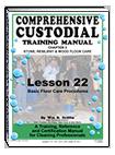 Lesson 22 – Basic Floor Care Procedures - ebook
