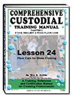Lesson 24 – Floor Care for Stone Flooring - ebook