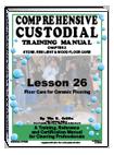 Lesson 26 – Floor Care for Ceramic Flooring - ebook