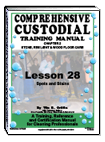 Lesson 28 – Floor Care Spot and Stain Removal - ebook