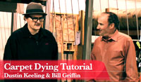Professional Carpet Dye Video Tutorial-ebook