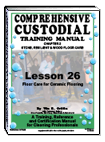 Lesson 26 – Floor Care for Ceramic Flooring - ebook