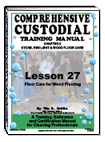 Lesson 27 – Floor Care for Wood and Wood-Like Flooring - ebook